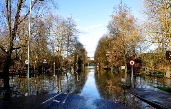Europe's Flood Losses to Soar by 2050