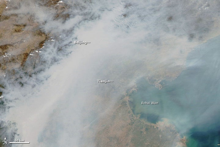 Air Pollution Intensifies Pacific Storms