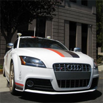 Automatic Auto A Car That Drives Itself Scientific American - Audi car that drives itself