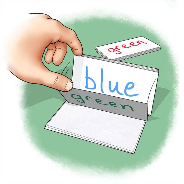 what is the stroop test used for