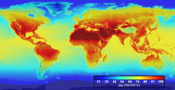 NASA Pinpoints Earth's Future Hotspots