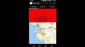 """MyShake"" App, a Personal Earthquake Warning System"