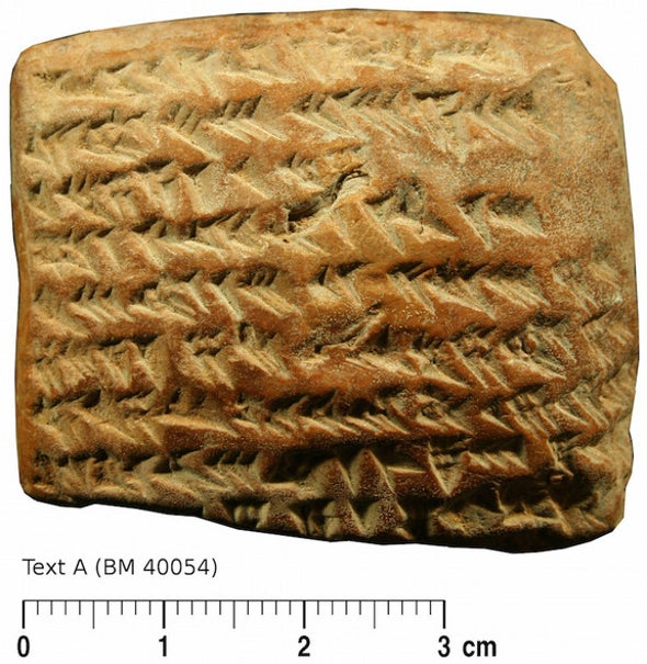 Babylonians Tracked Jupiter with Fancy Math, Tablet Reveals