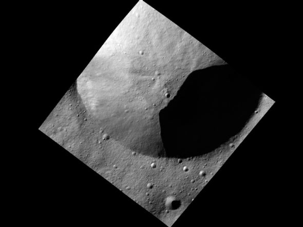 NASA Orbiter Maps Asteroid Vesta in Unprecedented Detail