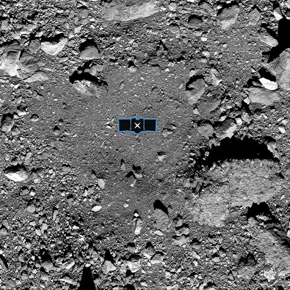 NASA's OSIRIS-REx Successfully Touches Asteroid Bennu