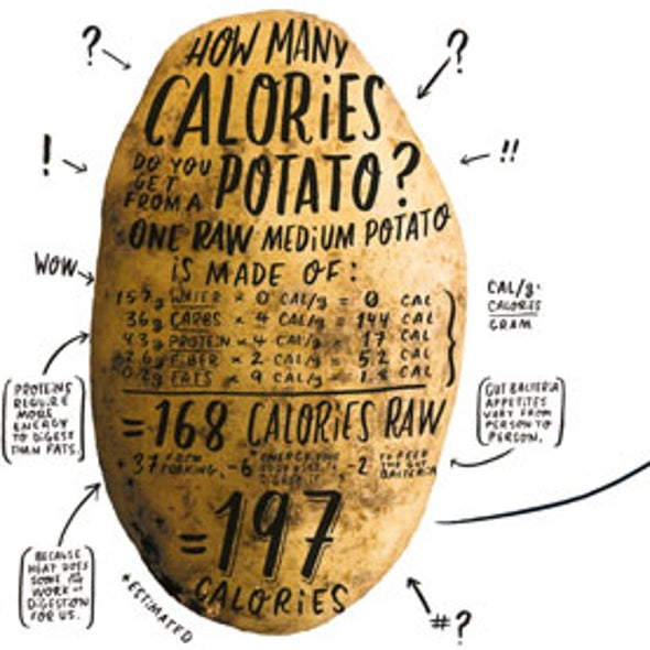 Science Reveals Why Calorie Counts Are All Wrong