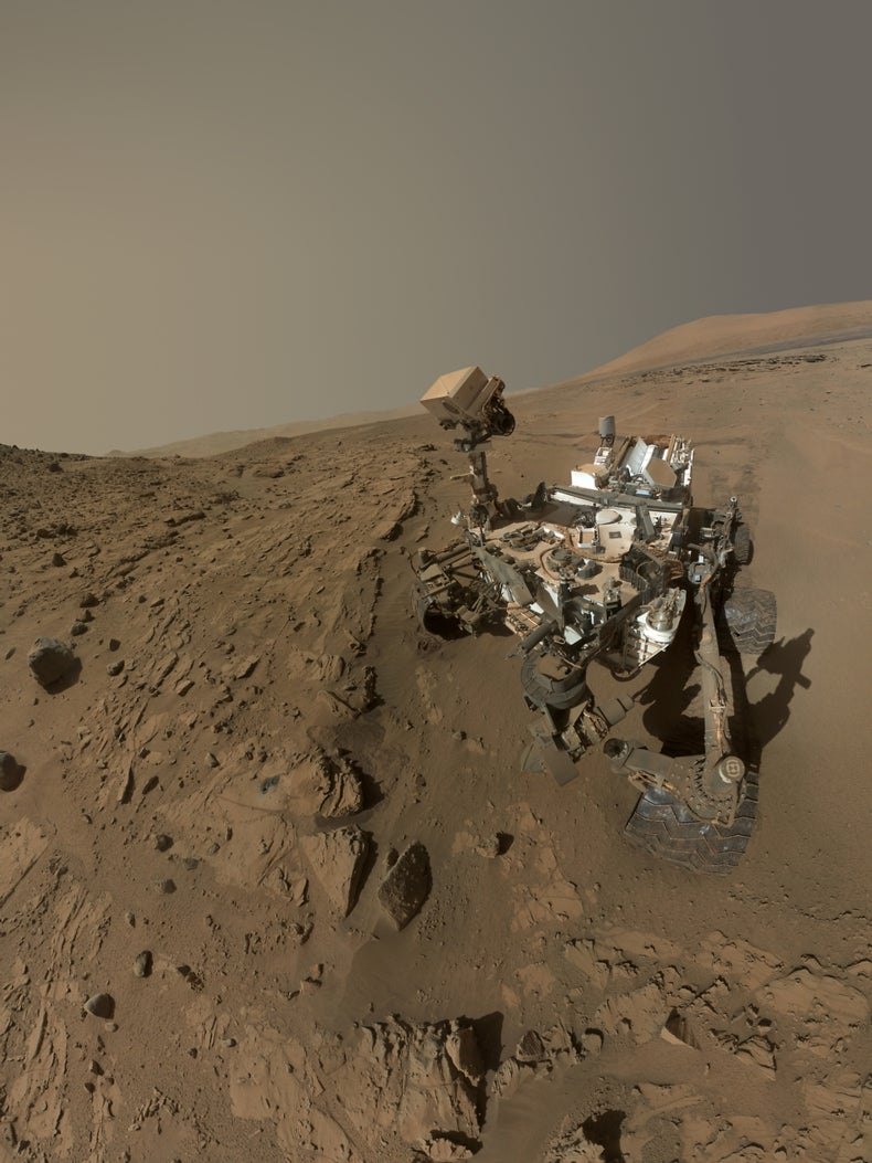 NASA Rover Finds Mysterious Methane Emissions on Mars