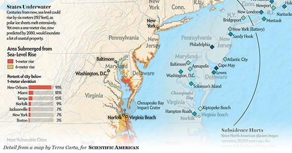 The East Coast Is Extremely Vulnerable to Hurricane Flooding