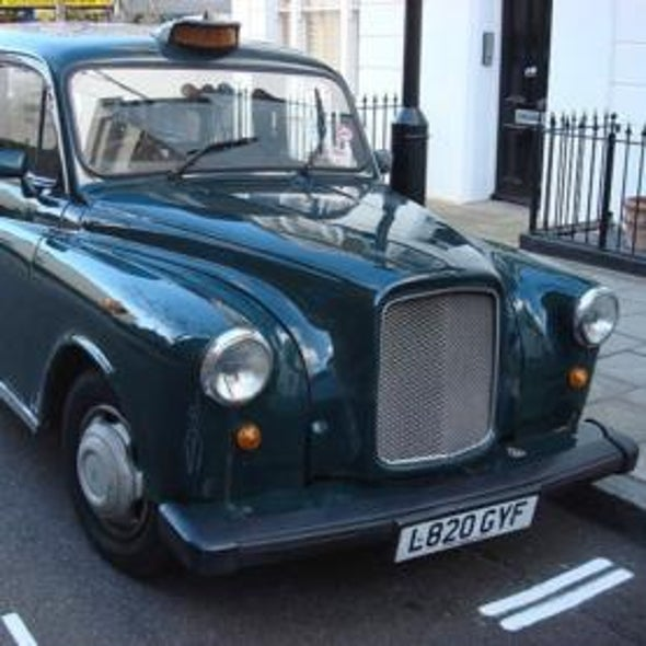 Cache Cab: Taxi Drivers' Brains Grow to Navigate London's Streets