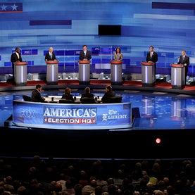 the August 2011 Republican debate