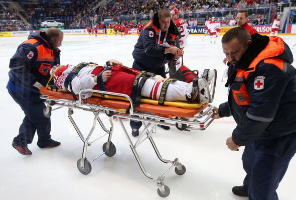 Spinal Tap Test Gauges Sports Concussion Severity