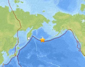 Major Earthquake Hits Off Alaska's Aleutian Islands