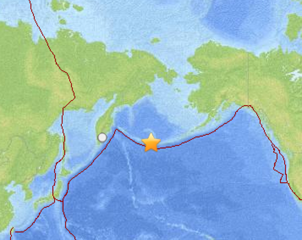 Major Earthquake Hits Off Alaska's Aleutian Islands