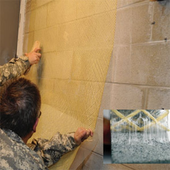Sticky Savior: U.S. Army Readies a New Blast-Protection Adhesive for Deployment