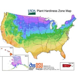 Plant Movement From Climate Change Revealed In Interactive Map - Us climate change interactive map by regions