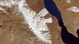 When Two Tibetan Glaciers Collapsed, the Whole Landscape Changed