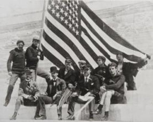 The Men Behind the First U.S. Olympic Team