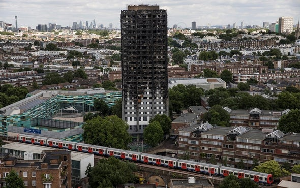 London's Deadly Grenfell Tower Fire: Building Material Now Leading Suspect