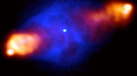 Gigantic Radio Telescope to Search for First Stars and Galaxies