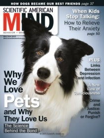 Scientific American Mind Volume 26, Issue 3