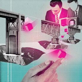 Building a bridge image