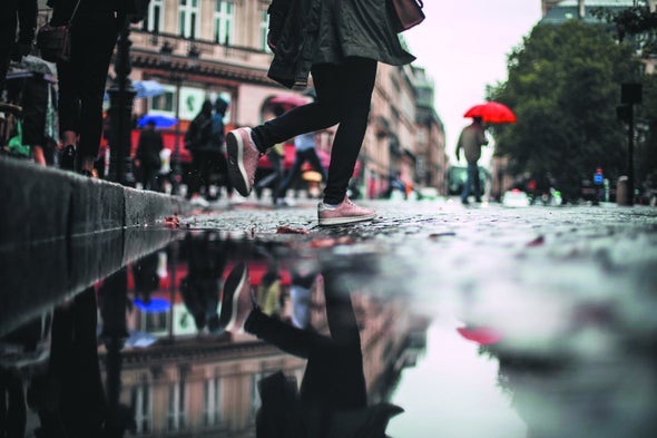 Expanding Paved Areas Has an Outsize Effect on Urban Flooding