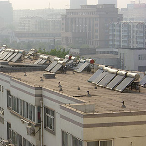 Sunrise on China's First Carbon-Neutral City