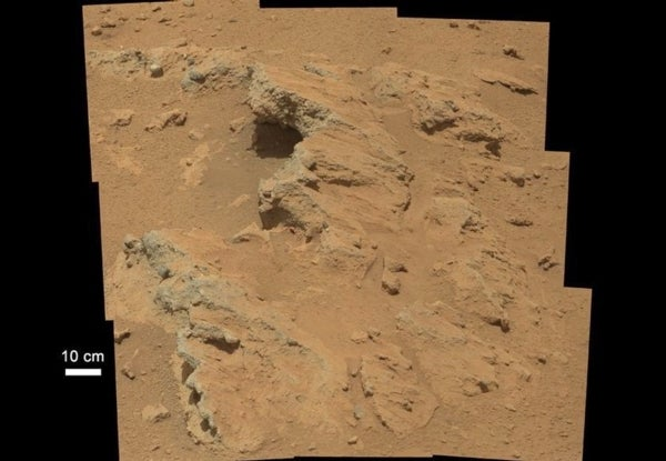 Hottah Water: Curiosity Traverses an Ancient Martian Streambed