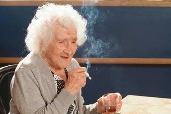 Jeanne Calment, longest lived human