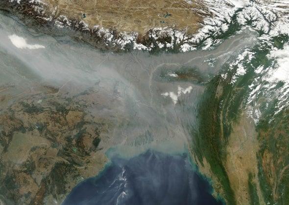 Himalayas Fail as Pollutants Barrier