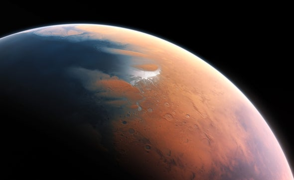Silica Blankets Could Make Mars Habitable