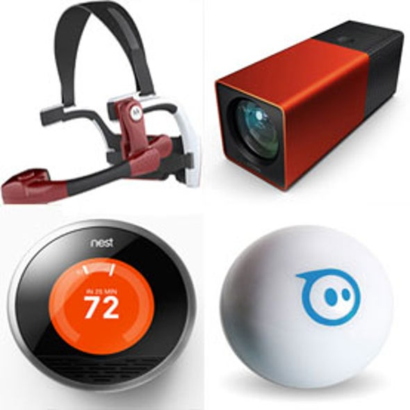 <i>Scientific American</i>'s Annual Gadget Guide: 10 Reasons to Fondly Remember 2011