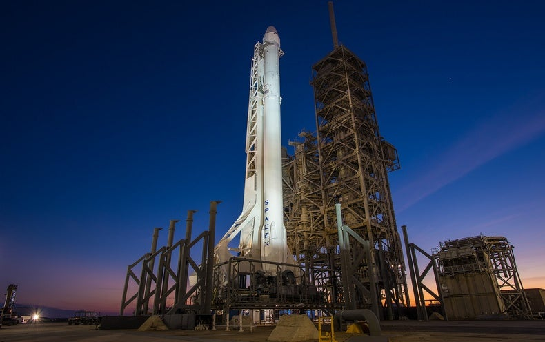 "SpaceX Launches Rocket With ""Highest-Ever Reentry Force"""