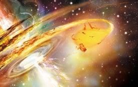 Shredded Stars Offer New View of Supermassive Black Holes