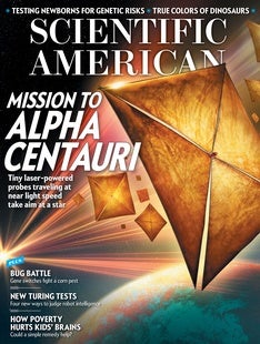 Scientific American Volume 316, Issue 3