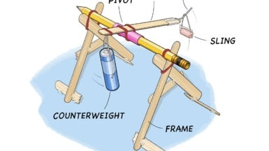 Build a Mini Trebuchet