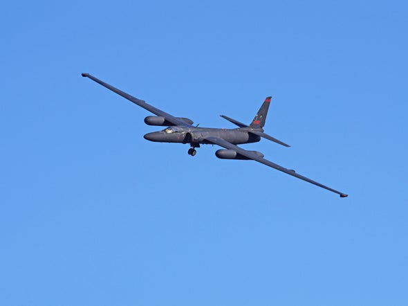 Famed U-2 Spy Plane Takes on a New Surveillance Mission