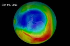 "Shrinking Ozone Hole, Climate Change Are Causing Atmospheric ""Tug of War"""