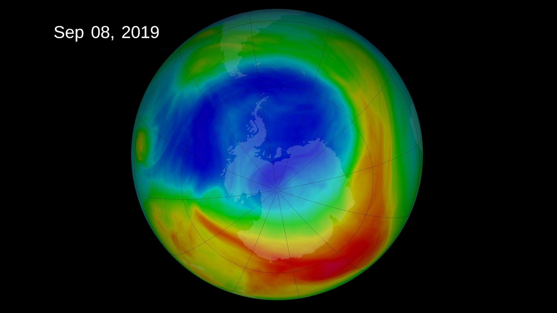 Shrinking Ozone Hole, Climate Change Are Causing Atmospheric 'Tug of War'