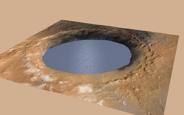 Could Liquid Lakes Form on Mars Today?