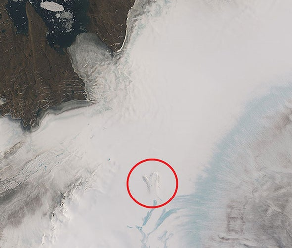 Surprise Lake Sheds Light on Underbelly of Greenland's Ice