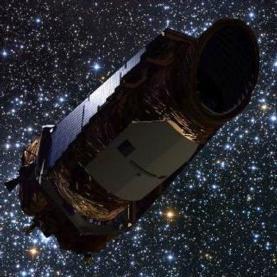 Illustration of the Kepler space telescope