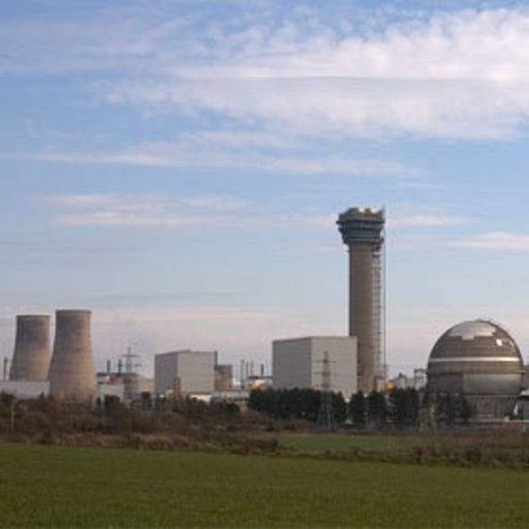 U.K. Stockpiles Plutonium in Hopes of Future Energy