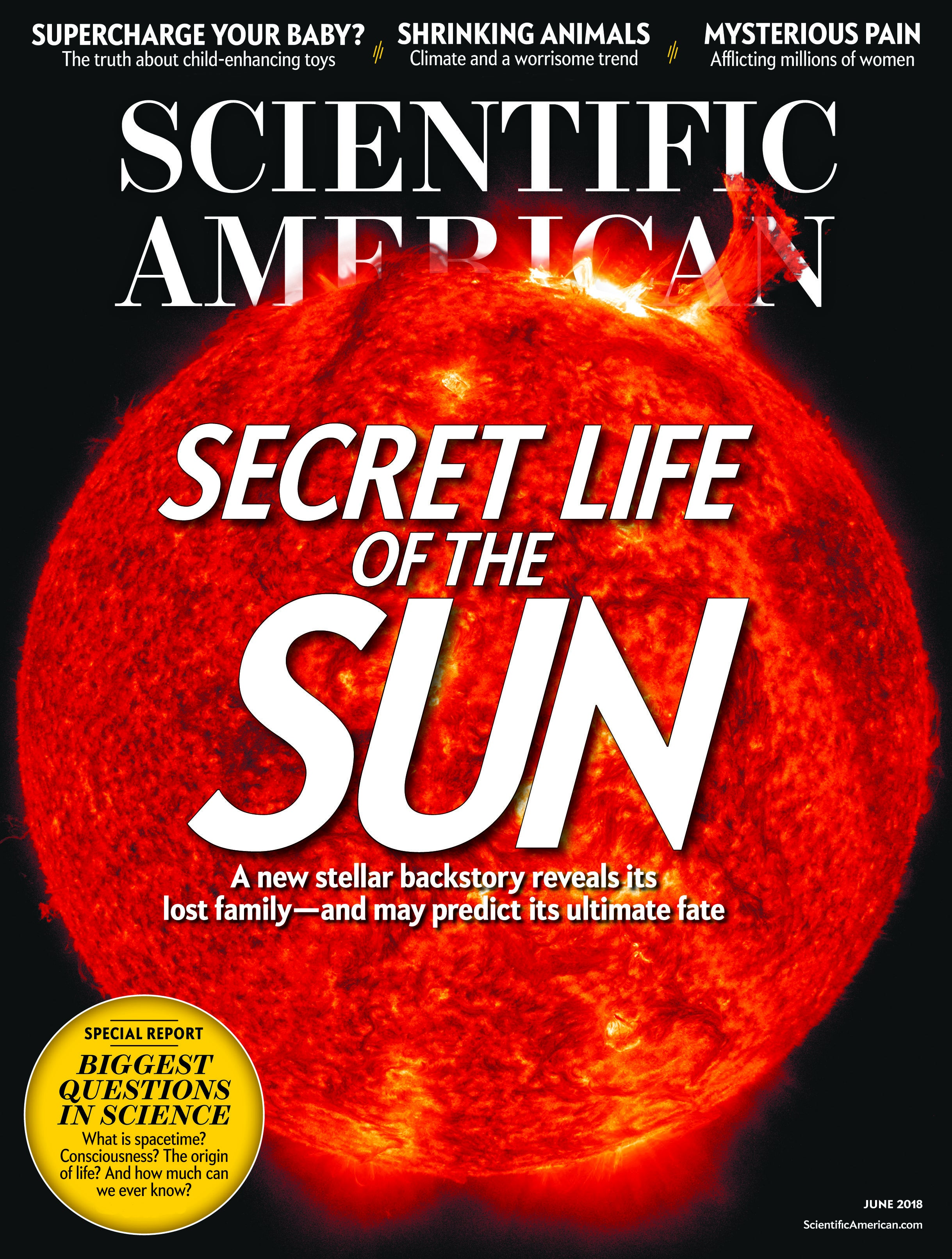 Scientific American Volume 318, Issue 6