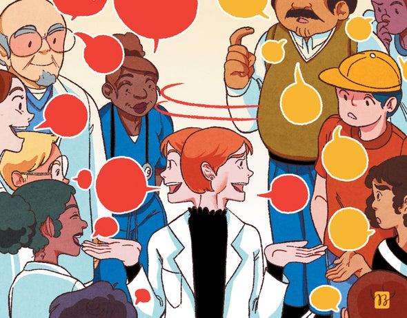 Scientists: When Talking to the Public, Please Speak Plainly