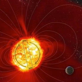Star Entangled with Its Giant Planet Experiences Hyperactive Magnetic Cycle