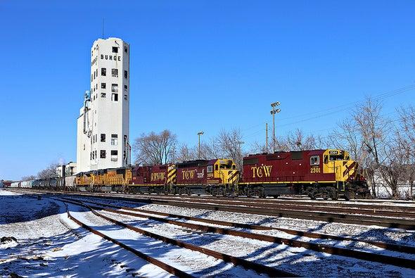 5 Ways Energy Is Transforming U.S. Railroads
