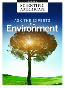 Ask the Experts: The Environment