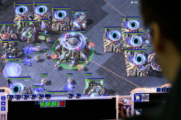 AI Beats Top Human Players at Strategy Game StarCraft II