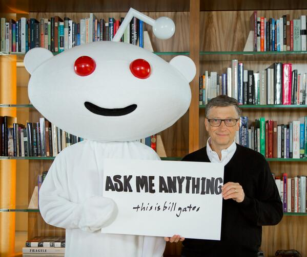 Bill Gates Fesses Up on Reddit to His One 'Expensive Guilty Pleasure Purchase'